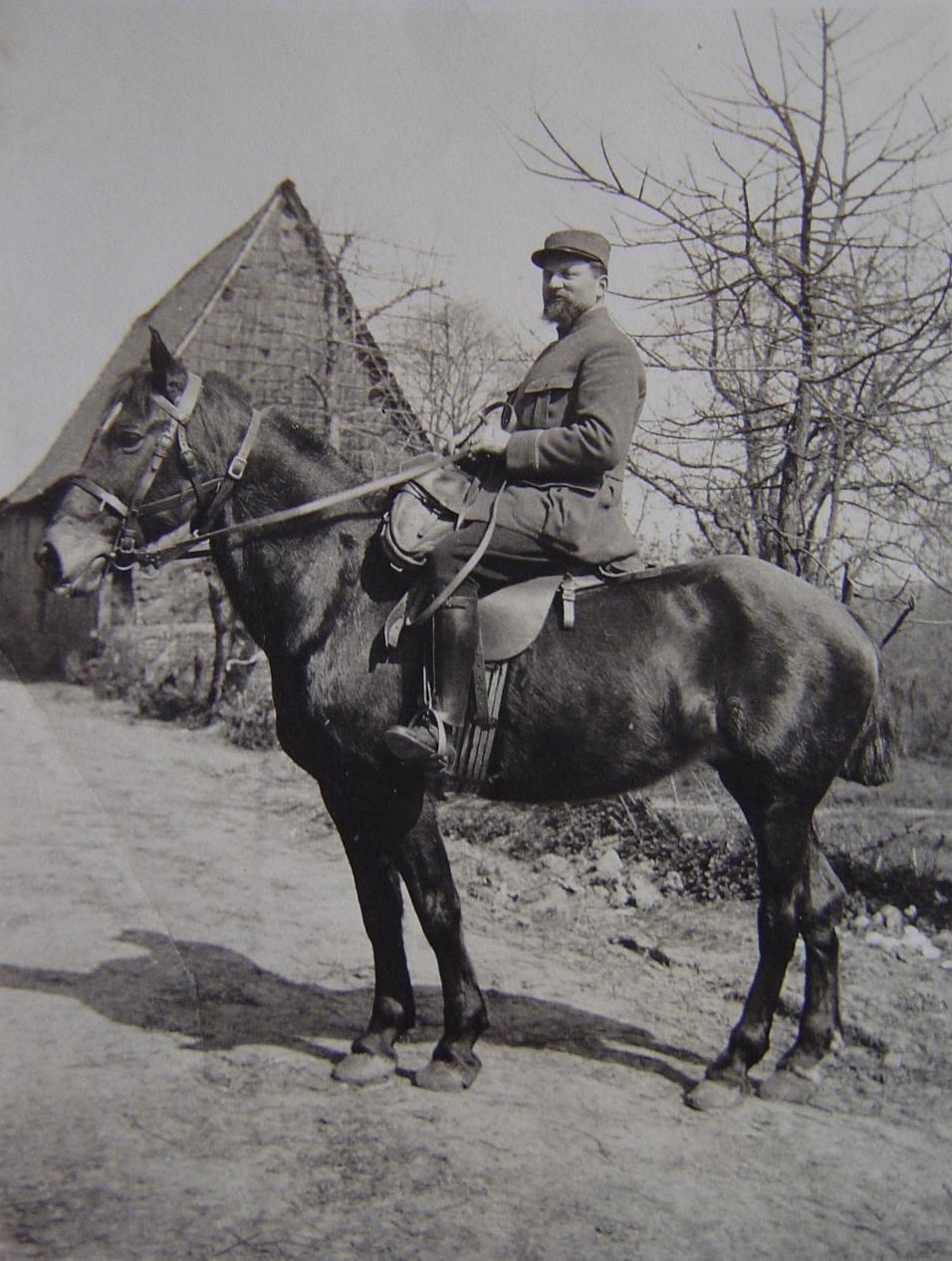 Edouard Guillouard, 1916