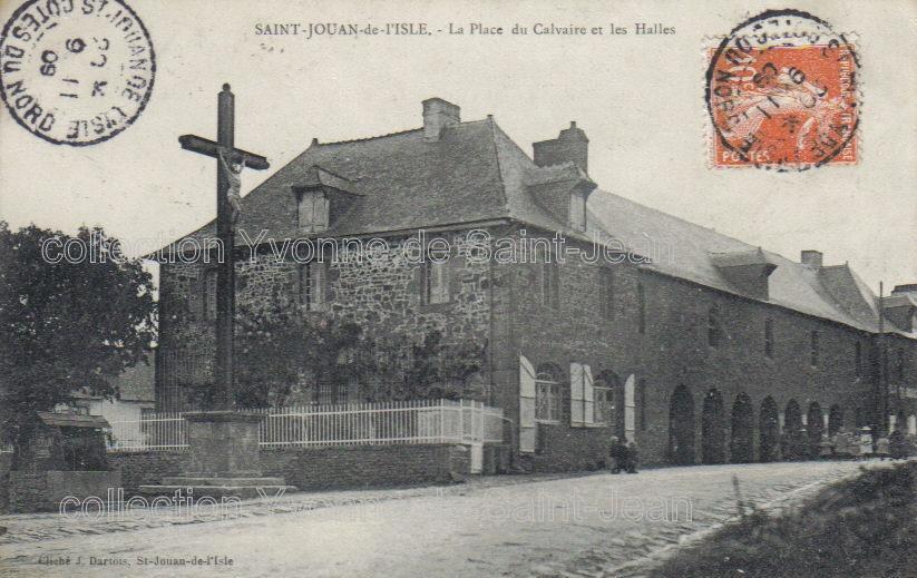 Saint jouan de l 39 isle ctes d 39 armor cartes postales for Garage galivel saint jouan de l isle