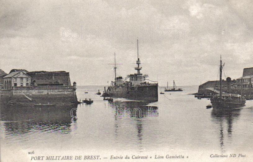 Brest rade finist re cartes postales - Surplus militaire brest port de commerce ...