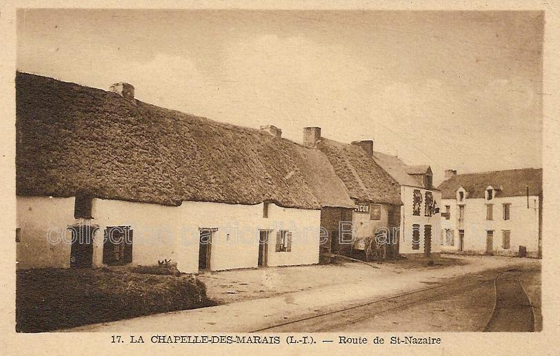 toîts de chaume en Loire-Atlantique
