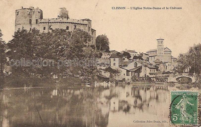Clisson - Collection personnelle, reproduction interdite