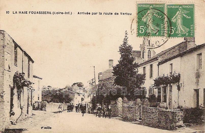 La Haye-Fouassière, Loire-Atlantique, enfants sur la rue