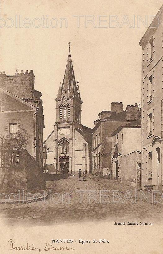 Nantes Eglises Cartes Postales