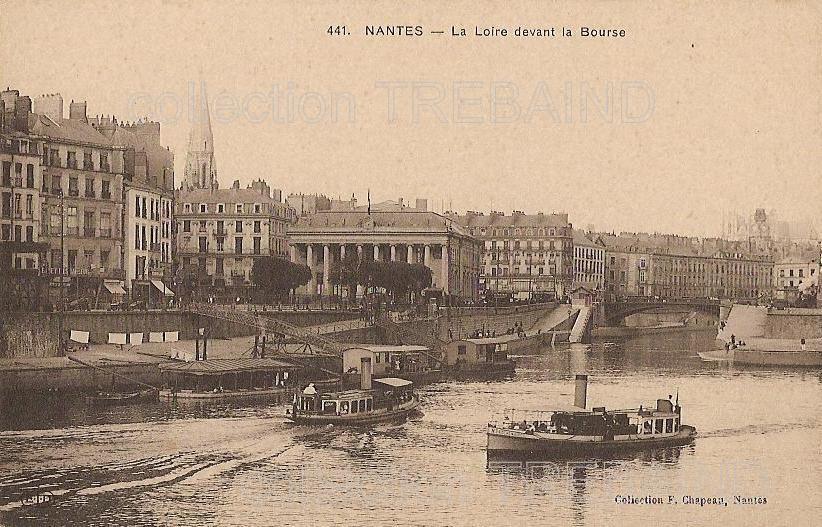 Nantes la loire cartes postales for Piscine ile gloriette nantes