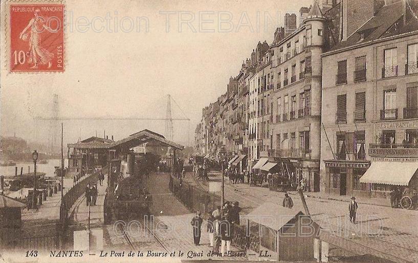 le train à Nantes