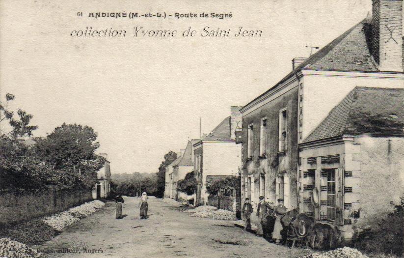 Andigné - Collection particulière - reproduction interdite
