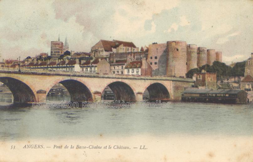 Lavoir à Angers, avant 1914
