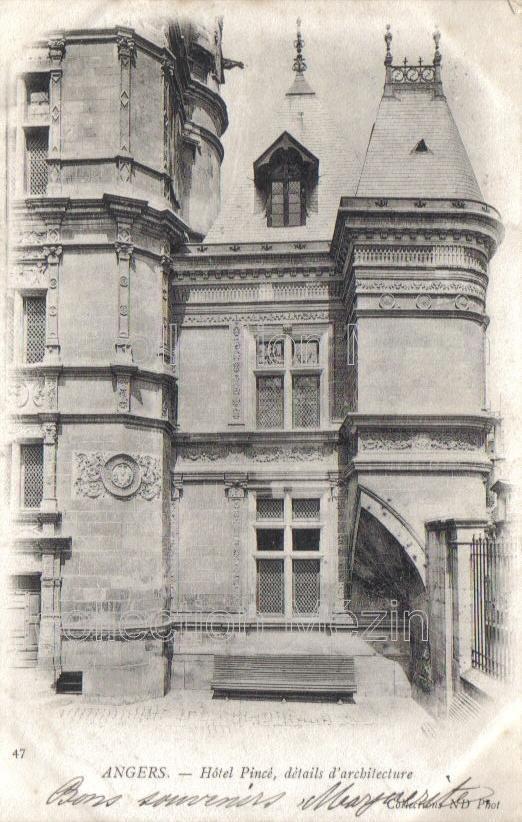 Angers Vielles Maisons Cartes Postales