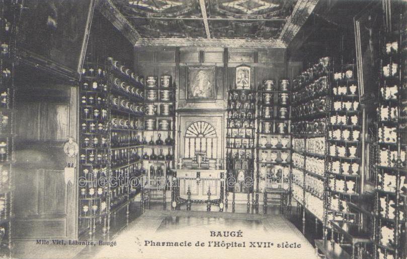 Pharmacie de lhôpital de Baugé, Maine-et-Loire
