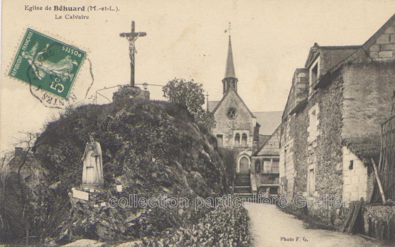 Béhuard - Collection particulière, reproduction interdite