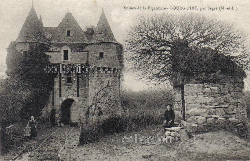 Le Bourg-dIré, collection particulière, reproduction interdite