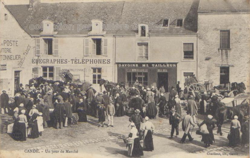 Candé, Maine-et-Loire