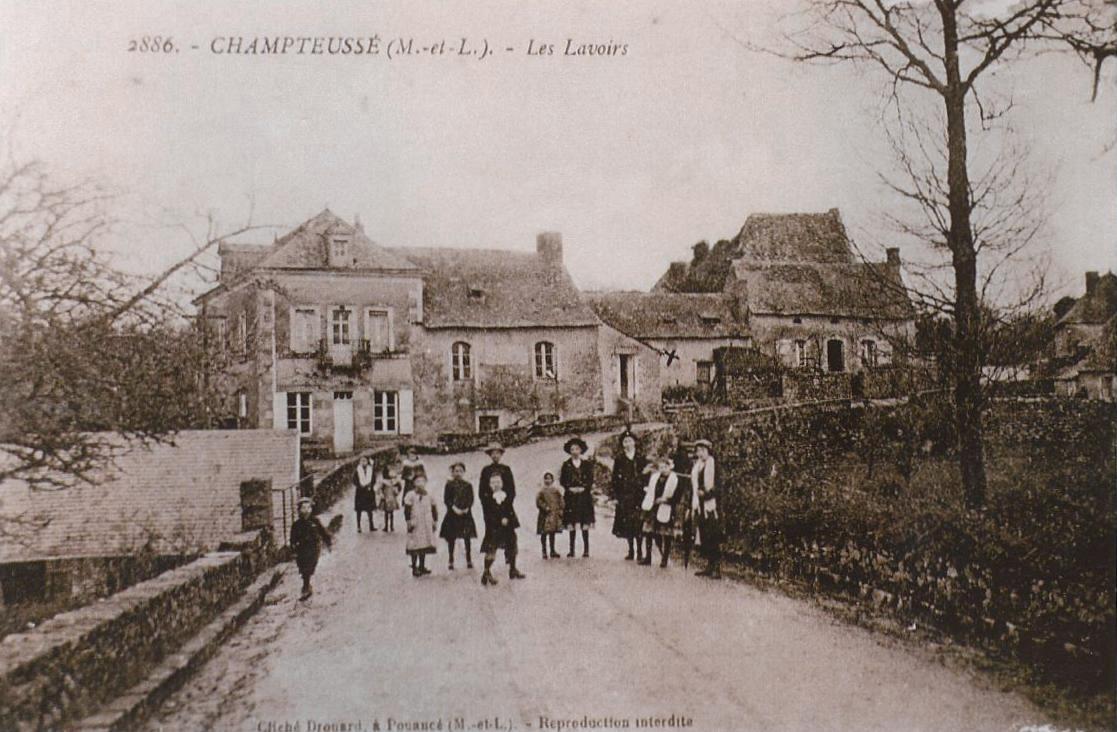 Champteussé, collection particulière, reproduction interdite