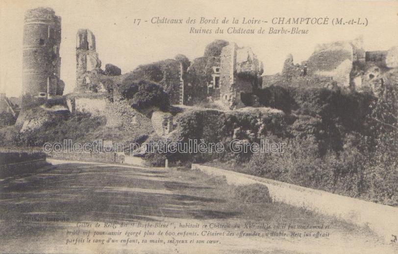 Champtocé - collection particulière, reproduction interdire