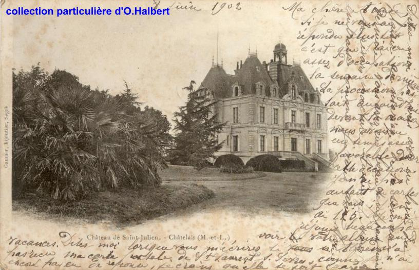 Châtelais - collection personnelle, reproduction interdite