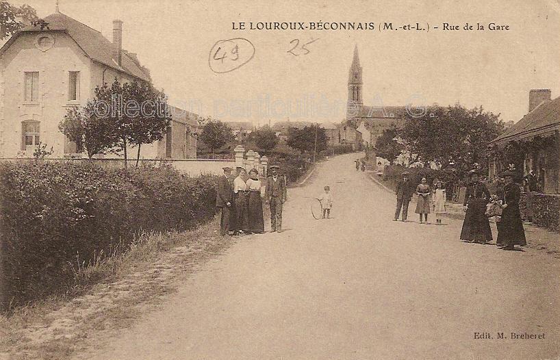 Le Louroux-Béconnais, collection personnelle, reproduction interdite