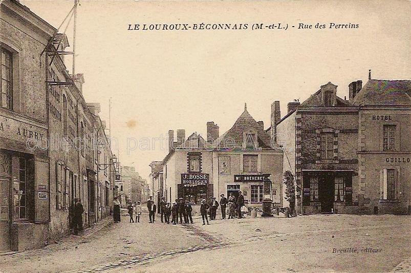 Le Louroux-Béconnais, collection particulière, reproduction interdite