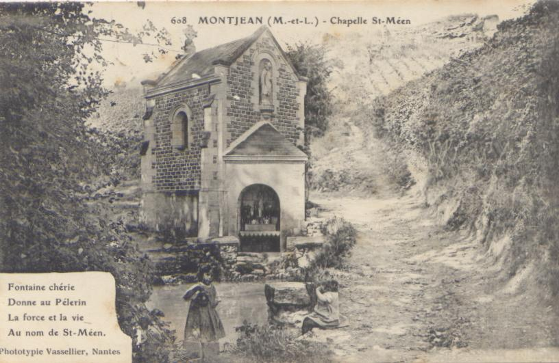 Chapelle saint-Méen, Montjean-sur-Loire, collection priviée, reproduction interdite
