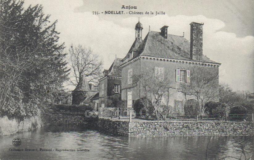 Noëllet, château de la Jaille - collection particulière