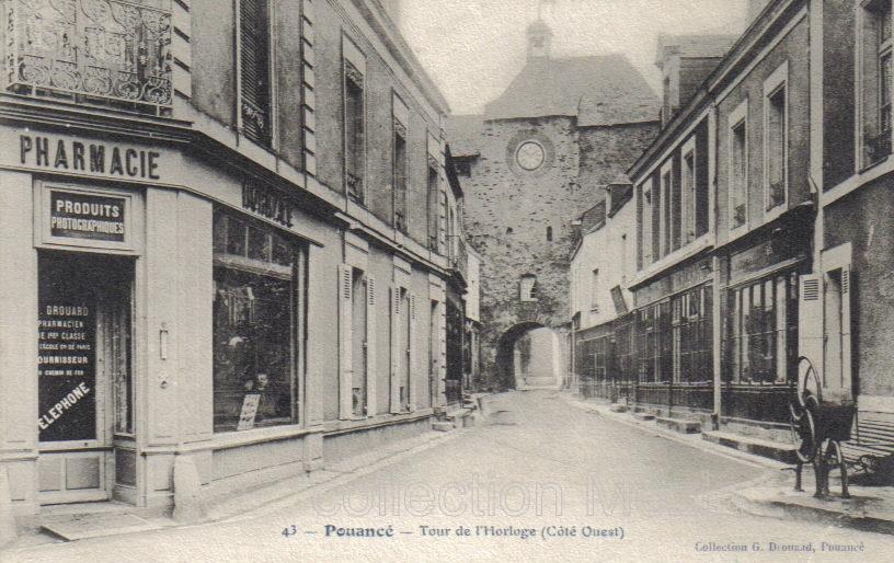 Pouancé, la pharmacie au temps de Drouard, passionné de photographie