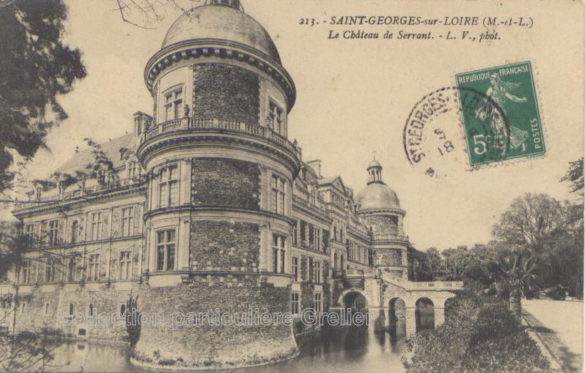 château de Serrant - collection particulière, reproduction interdite