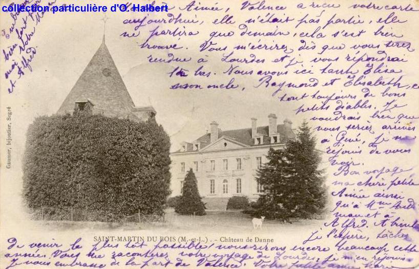histoire de Saint Martin du Bois