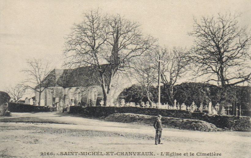 St-Michel-et-Chanveaux - collection particulière, reproduction interdite