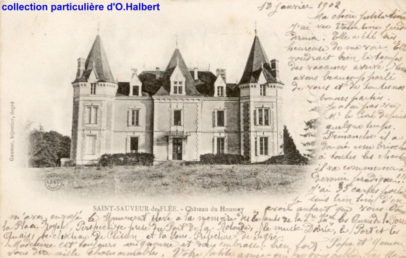 château du Houssay, Saint-Sauveur-de-Flée, Maine-et-Loire