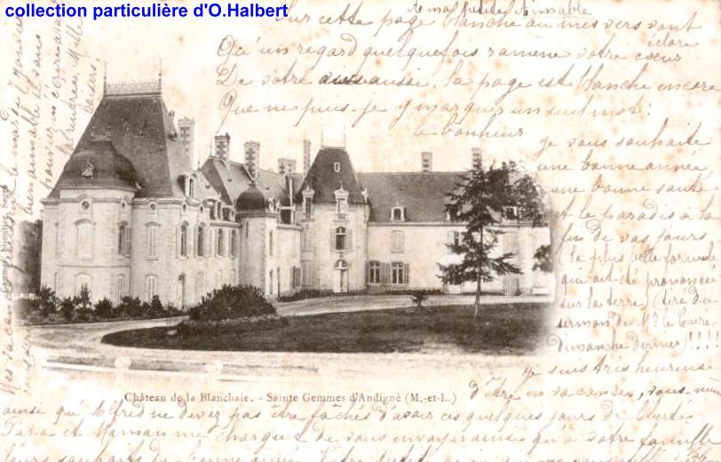 La Blanchaie - collection particulière, reproduction interdite