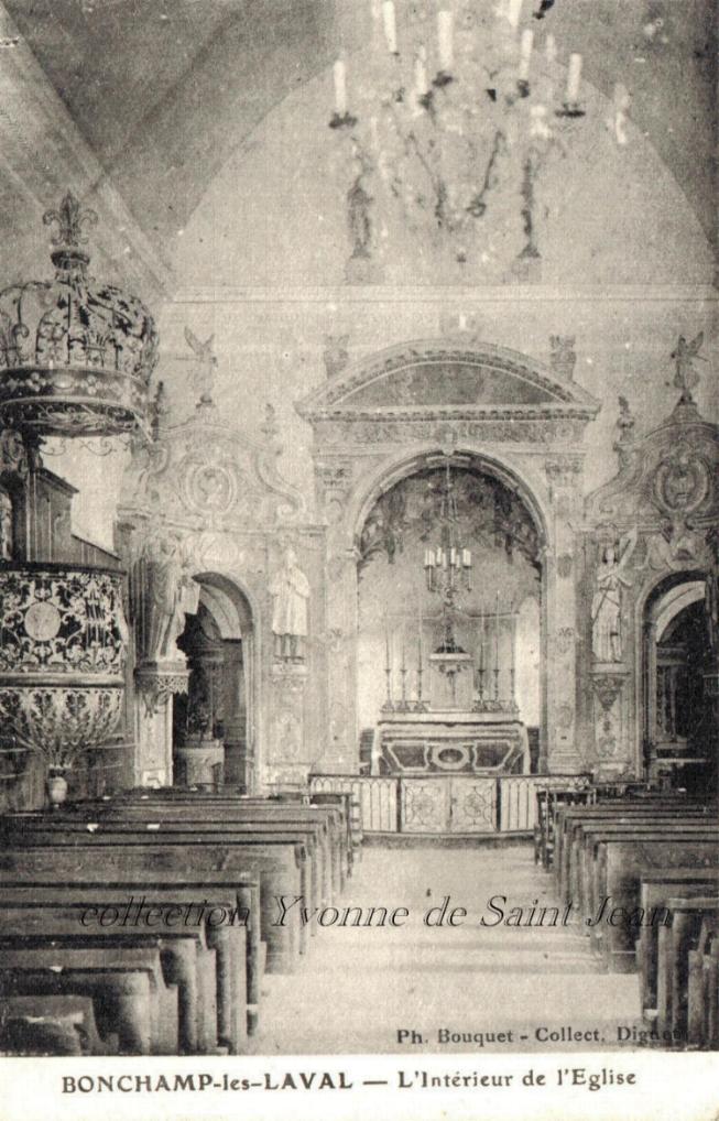 Bonchamp-lès-Laval - Collection particulière, reproduction interdite