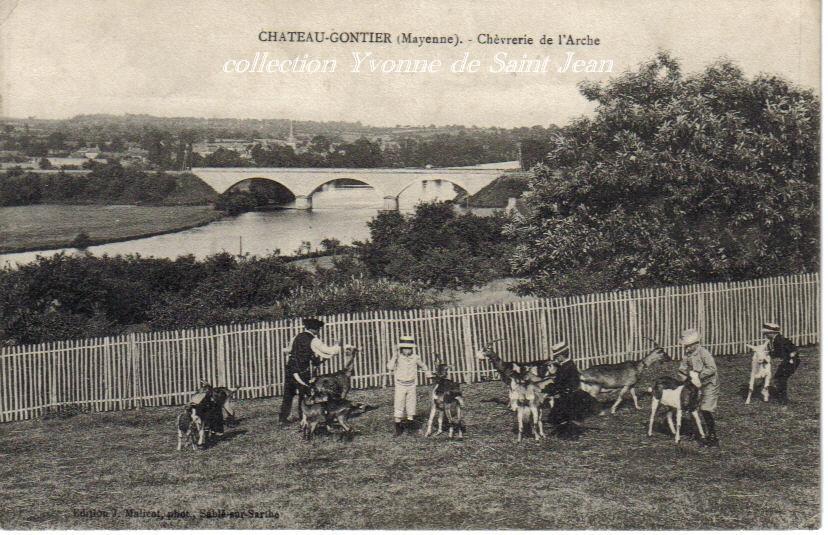 Château-Gontier, collections personnelles, reproduction interdite