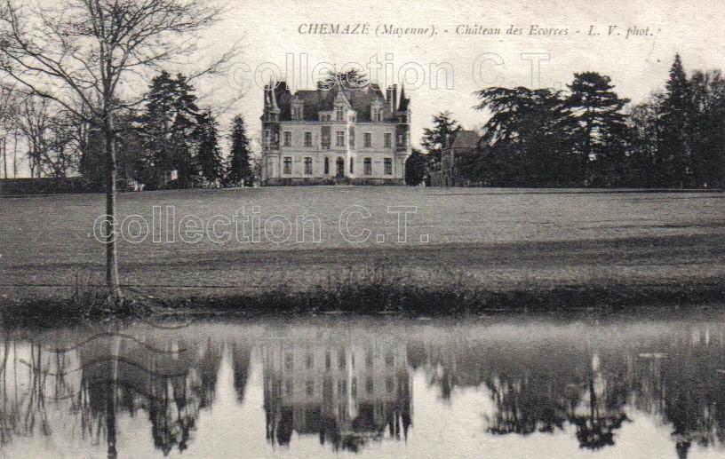 Chemazé - Collection particulière, reproduction interdite