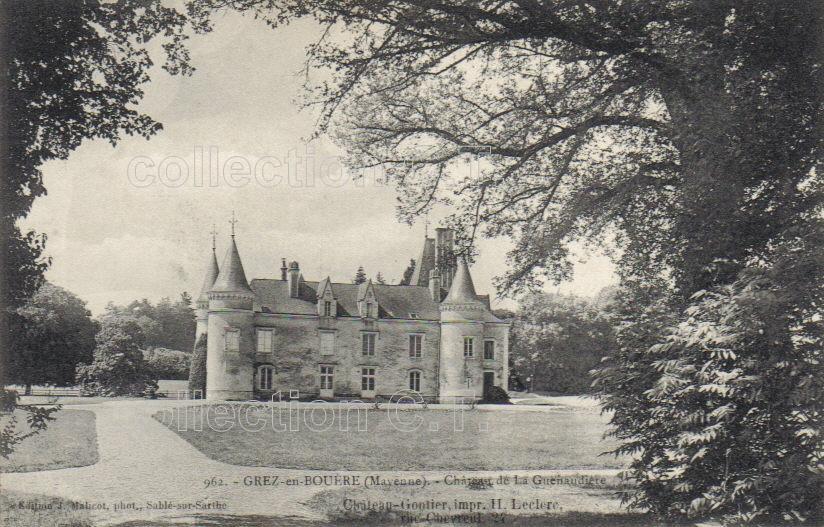 Grez-en-Bouère - collection particulière, reproduction interdite