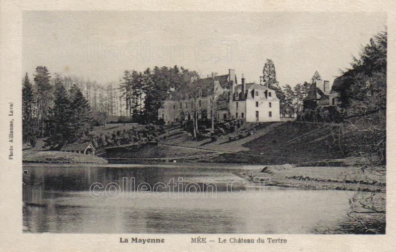 Mée, château du Tertre - collection particulière, reproduction interdite