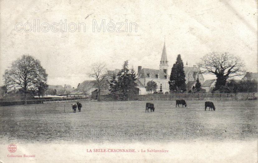 La Selle-Craonnaise, collection particulière, reproduction interdite