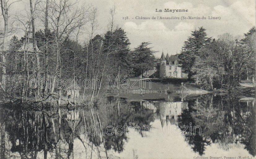 lAnsaudière, Saint-Martin-du-Limet, Mayenne