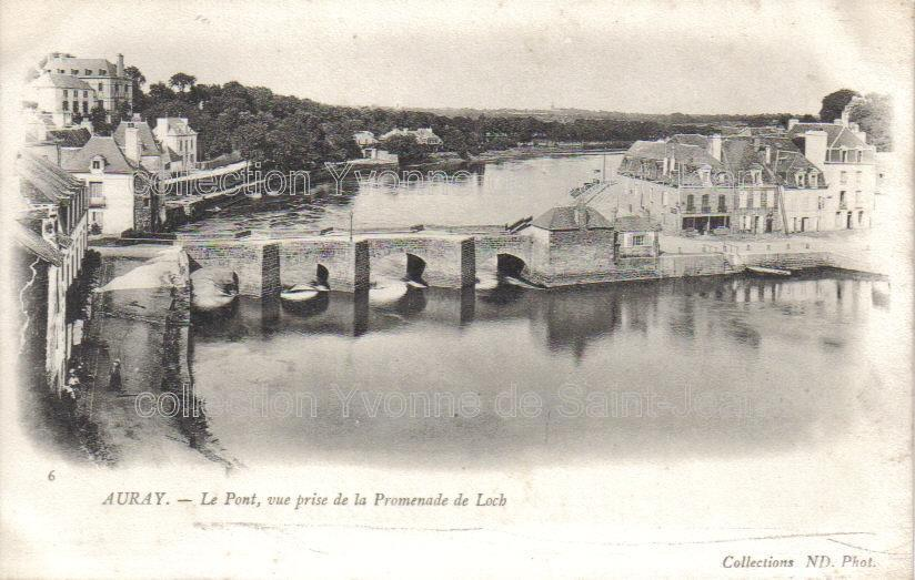 Auray,Morbihan,cartes postales