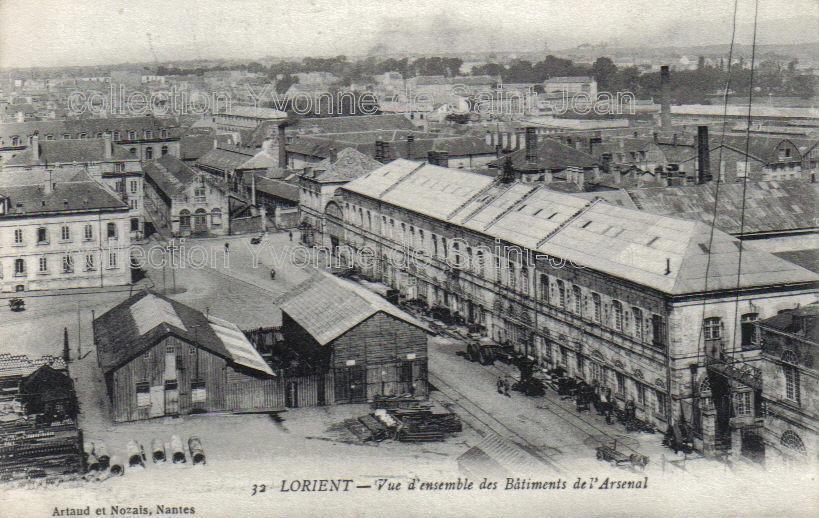 Lorient cartes postales - Cours de cuisine lorient ...