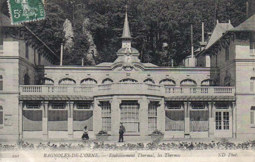 Bagnoles-de-l'Orne,Orne,cartes postales