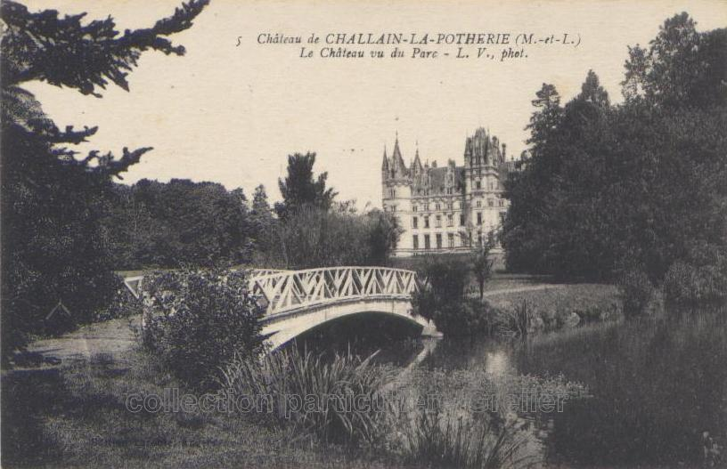 Challain - Collection personnelle, reproduction interdite