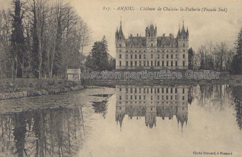 Challain-la-Potherie - Collection particulière, reproduction interdite