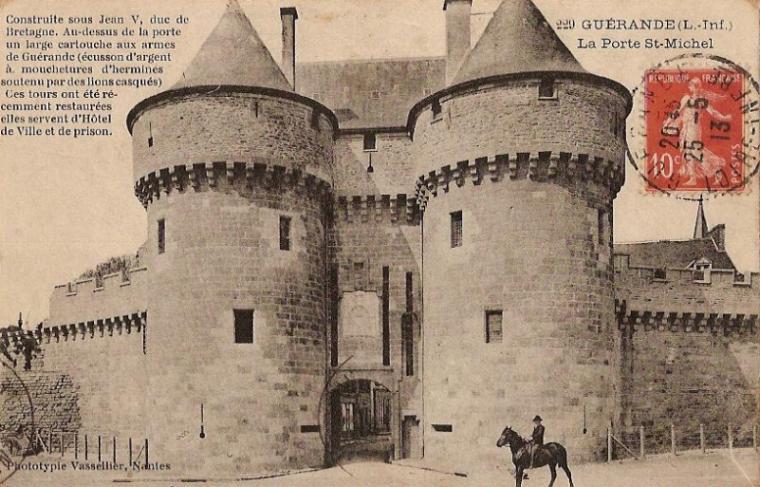Gurande cartes postales for Porte unie st michel
