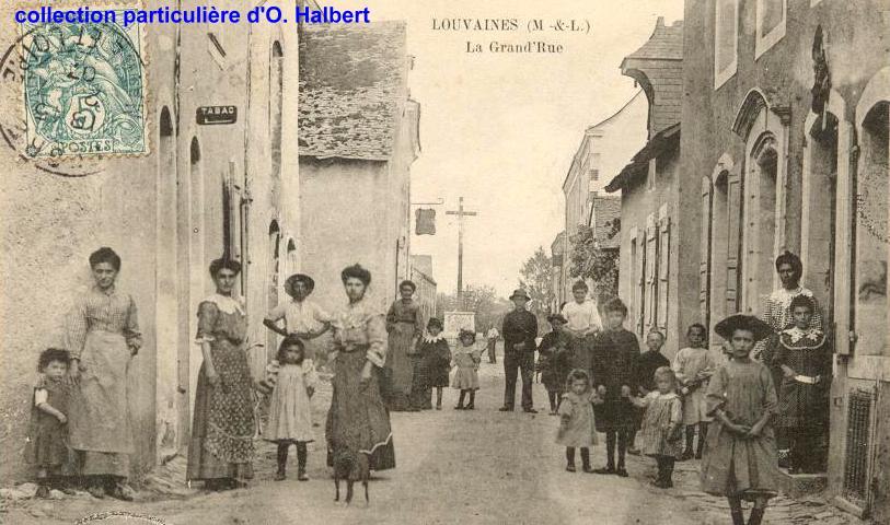 Louvaines, collection particulière, reproduction interdite