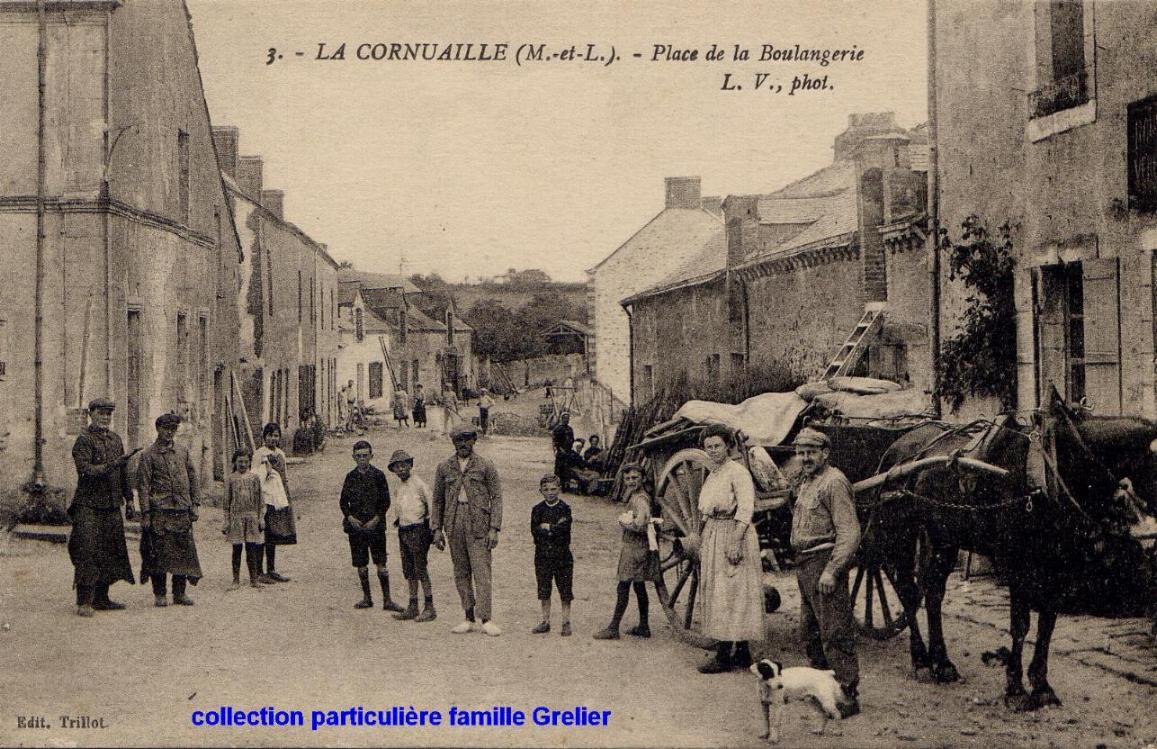 La Cornuaille, collection Grelier, reproduction interdite