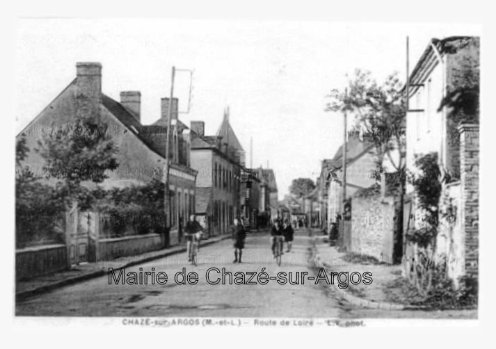 collection de la mairie de Chazé-sur-Argos
