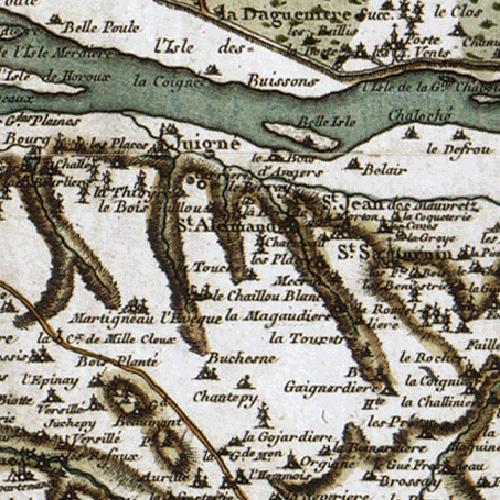 Saint-Jean-des-Mauvrets - carte dite de Cassini